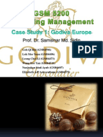 Godiva Presentation Slide