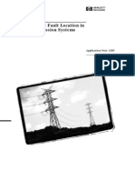 Travelling Fault Location System-HP-AN1285