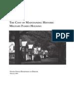Military Family Housing History