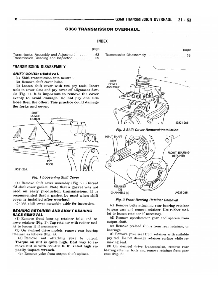 Getrag Service manual