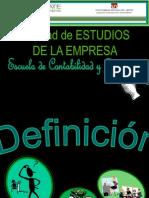 Formas de Constitucion de La Empresa