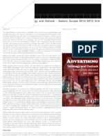 Social Advertising Strategic Outlook 2012-2013 Eastern Europe, 2012
