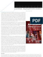 Social Advertising Strategic Outlook 2012-2013 Hong Kong, 2012