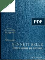 Bennett College--Bennett Belle (1964)