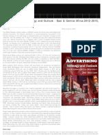 Social Advertising Strategic Outlook 2012-2015 East & Central Africa, 2012