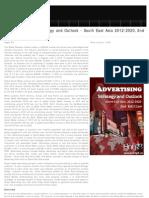 Social Advertising Strategic Outlook 2012-2020 South East Asia, 2012