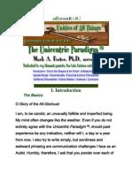 The Unicentric Paradigm