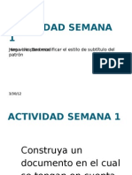 ACTIVIDAD SEMANA 1