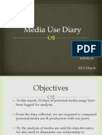 Media Use Diary Final
