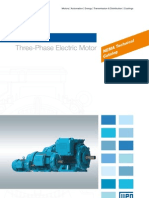 WEG w22 Three Phase Motor Technical Nema Market 50029265 Brochure English