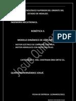 modelo dinamico actuadores