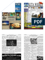 "Kuta Weekly-Edition 278 ""Bali""s Premier Weekly Newspaper"""