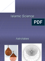 Islamic Science  - in brief
