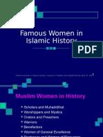 Famous Women in Islamic history