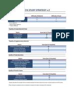 CFA Study Strategy v.2