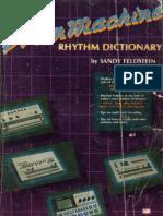 33852257 200 drum patterns for drum machinespdf roland drum machine rhythm dictionary ocr fandeluxe Images