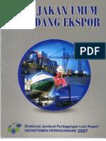 Kebijakan umum ekspor