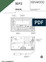 Kenwood GX-608EF2 Service Manual (Subaru)