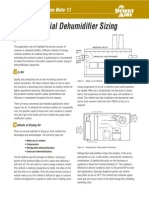 11-An - Industrial Dehumidifier Sizing