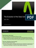 Evolution of Data Center Webinar