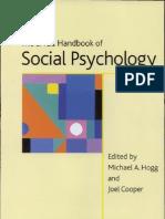 the SAGE Handbook of Social Psychology Concise Student Edition Sage Social Psychology Program