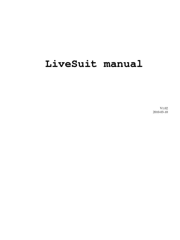 Live Suit En | Installation (Computer Programs) | Device Driver