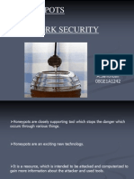 Honey Pots 4 Network Security 1