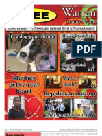 The Early April, 2012 edition of Warren County Report