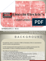 Lincoln Electric's