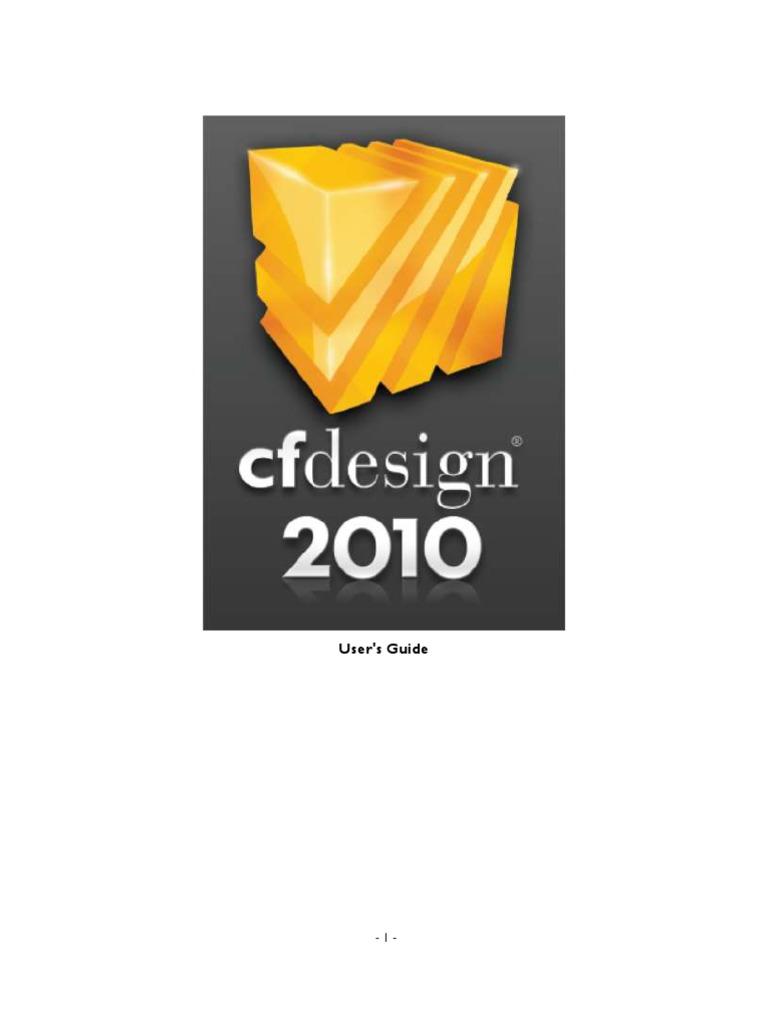 cfdesign 2010 users guide computer aided design menu computing rh scribd com