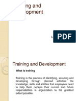 Training and Dev Elopement