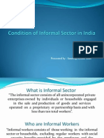 Condition of Informal Sector in India