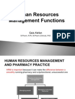 4 Human Resources Management Functions