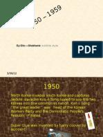 1950 - 1959