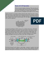 Basics of LCD Operation