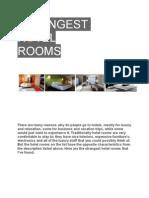 Strangest Hotel Rooms