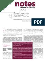 Notes 44 Aida Fra