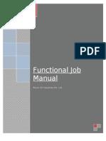 Functional JD Manual