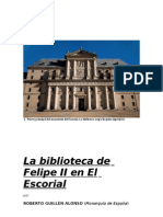 La Biblioteca de Felipe II en El Escorial