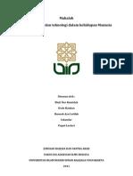 Peran Sains Dan Teknologi Dalam Kehidupan Manusia