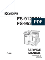 Kyocera Service Manual for FS-9120DN FS-9520DN