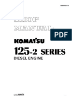 6D125-2 Engine (PC450-6) Shop Manual (SEBM006410)