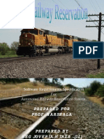 Railway Reservation Software Document a Ion