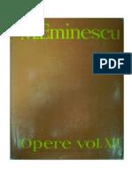 Eminescu, Mihai - Publicistica (4) 01.01-31.12 1881 vol.XII op. comp