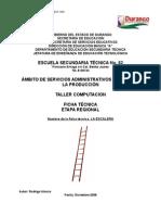 análisis de Objeto Técnico La Escalera