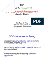 1-The Rise & Growth of Dev Management-2011