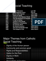 Catholic Social Teaching