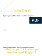Learning English PP - B2
