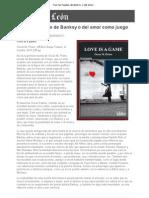 Tras las huellas de Banksy o del amor como juego - Filandón - www.diariodeleon.es