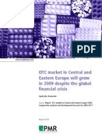 7df52-Wp 0762 OTC Market in Central and Eastern Europe Will Grow in 2009 Despite the Global Financial Crisis August 2009